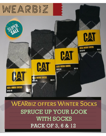 Warm Winter Socks Pack of 3, 6 and 12 pairs